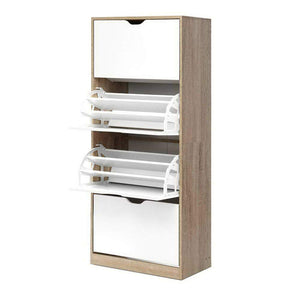 48 Pairs Shoe Organiser Shelf Wooden - Factory To Home - Furniture