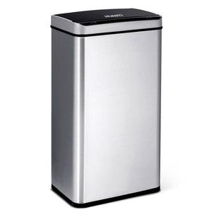 48L Motion Sensor Bin - Silver - Factory To Home - Home & Garden