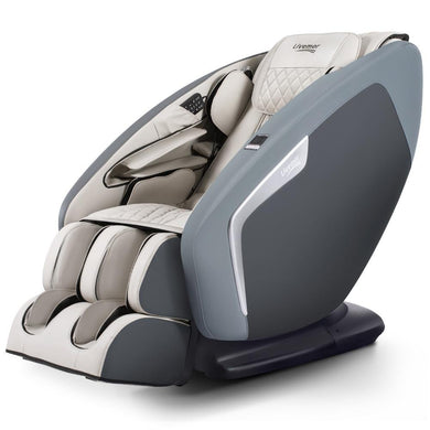 4D Electric Shiatsu Massage Chair - Full Body - Navy Grey - Factory To Home - Health & Beauty