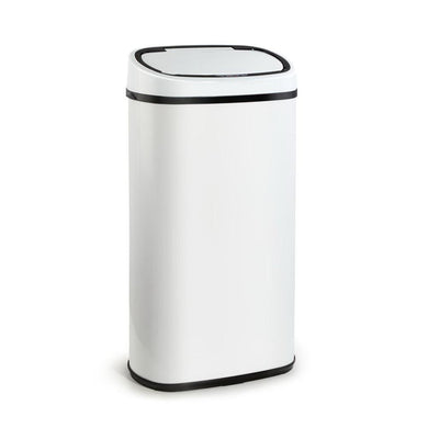 58L Sensor Bin White - Factory To Home - Home & Garden