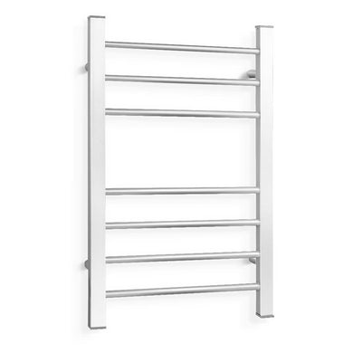 7 Rung Aluminum Electric Heated Towel Rail - Factory To Home - Home & Garden