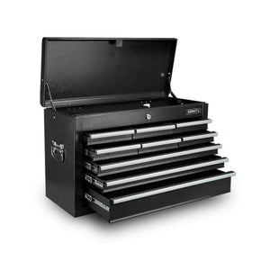 9 Drawer Mechanic Tool Box - Black - Factory To Home - Tools