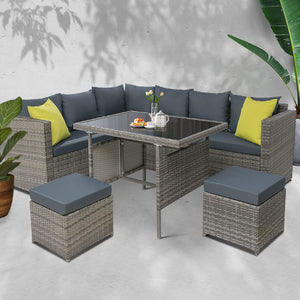 Outdoor Dining/Sofa Grey