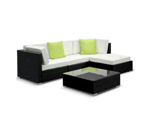 5PC Sofa Set with Storage Cover