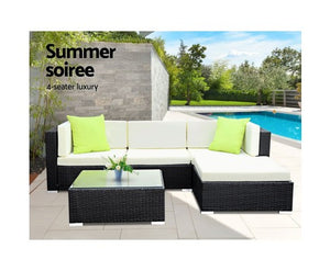 5PC Outdoor Sofa Set
