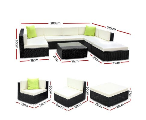8PC Outdoor Sofa Set