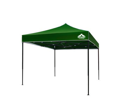 3x3m Outdoor Gazebo - Green