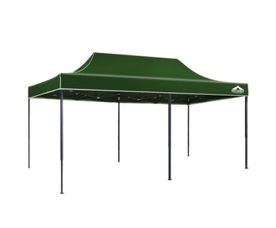 3x6m Outdoor Gazebo - Green