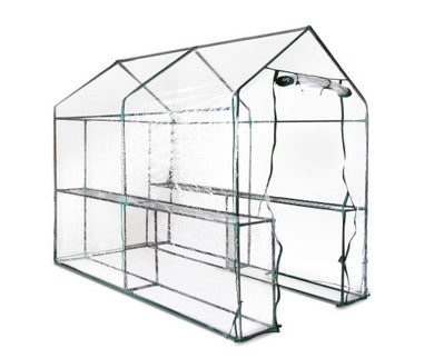 Walk In Transparent Green House 1.9 x 1.2m