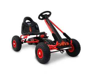 Kids Pedal Go Kart Red