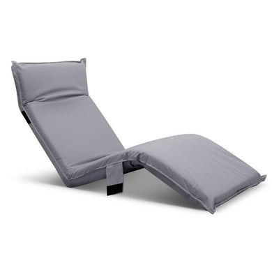 Adjustable Sun Lounger - Grey - Factory To Home - Furniture