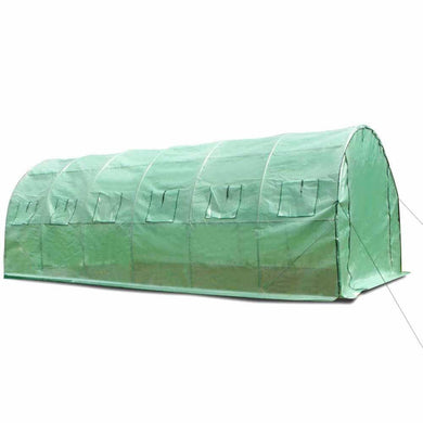 All Weather Tunnel Greenhouse 6m - Factory To Home - Home & Garden