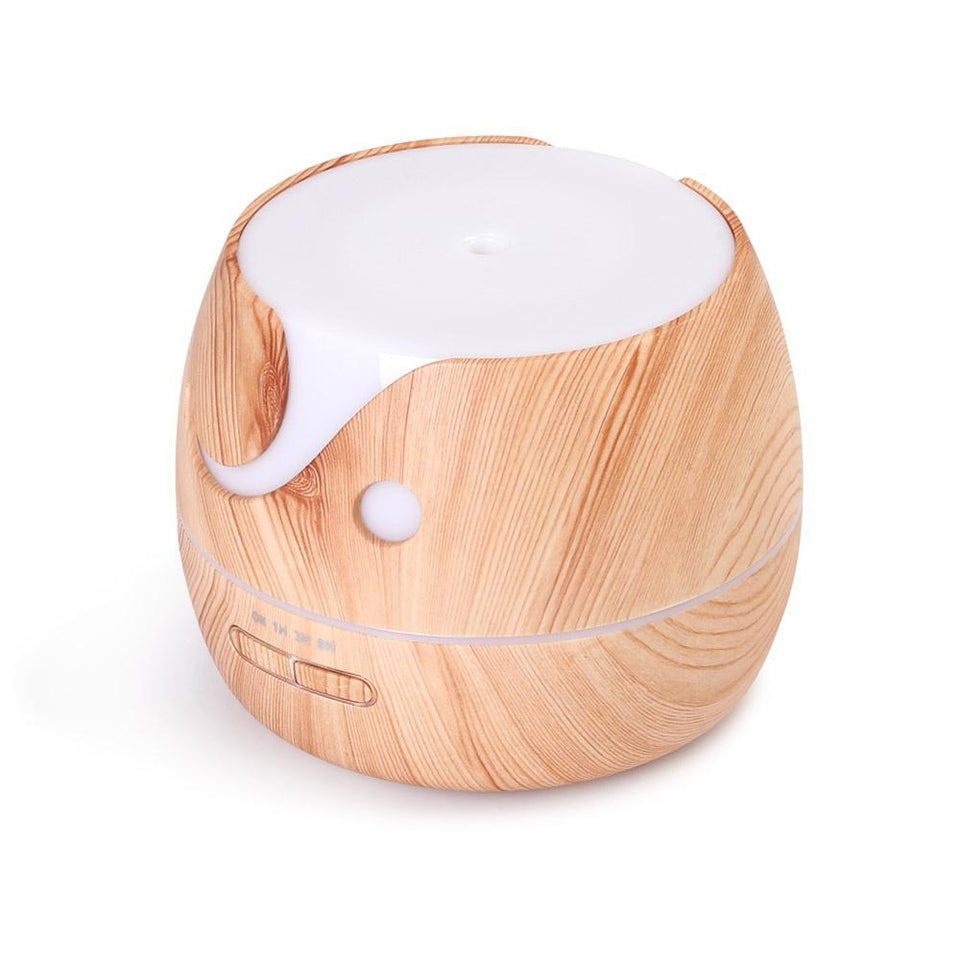 Aroma Diffuser Air Humidifier 400ml Light Wood Grain - Factory To Home - Appliances
