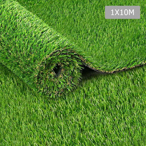 Artificial Synthetic Grass 1 x 10m 20mm - Natural - Factory To Home - Home & Garden
