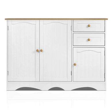 Artiss Buffest Sideboard Hallway Entrance Table - White - Factory To Home - Furniture
