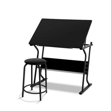 Artiss Drawing Desk Adjustable Drafting Table Tilt - Factory To Home - Furniture