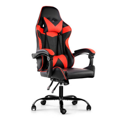 Artiss Gaming Office Chairs Computer Seating Racing Recliner Racer Black Red - Factory To Home - Furniture