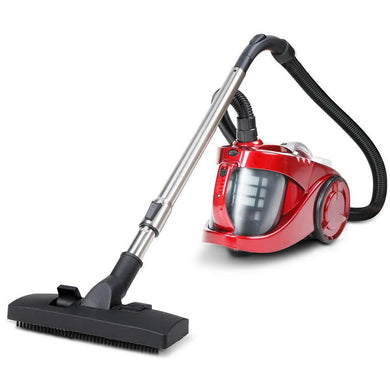 Bag-less Cyclonic Vacuum Cleaner - Red - Factory To Home - Appliances