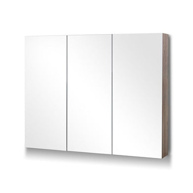 Bathroom Mirror with Storage Cabinet - Natural - Factory To Home - Furniture