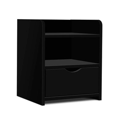 Bedside Table Drawer - Black - Factory To Home - Furniture