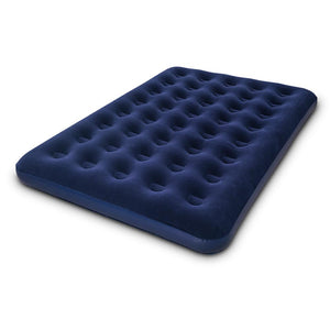 Bestway Twin Double Inflatable Air Mattress - Navy - Factory To Home - Home & Garden