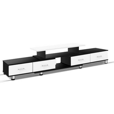 Black & White Entertainment Unit - Factory To Home - Furniture