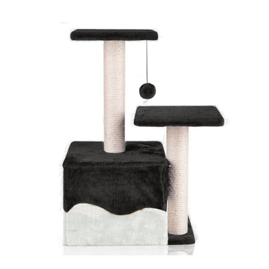 Cat Scratching Post - 0.6M - Black - Factory To Home -