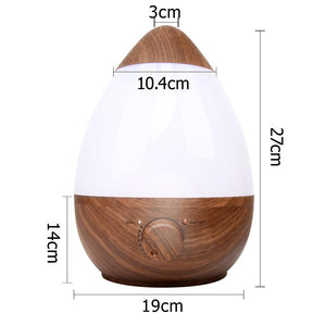 Cool Mist Air Humidifier 2.3L - Dark Wood - Factory To Home - Appliances