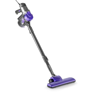 Corded Handheld Bag-less Vacuum Cleaner - Purple and Grey - Factory To Home - Appliances