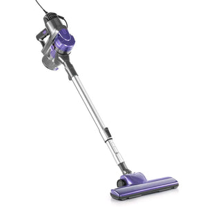 Corded Handheld Bag-less Vacuum Cleaner - Purple and Silver - Factory To Home - Appliances