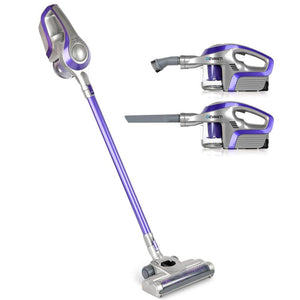 Cordless Stick Vacuum Cleaner - Purple & Grey - Factory To Home - Appliances