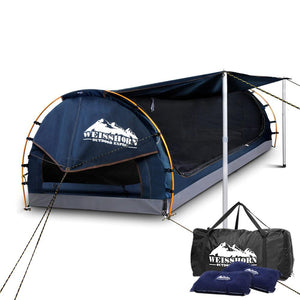 Double Camping Swag - Dark Blue - Factory To Home - Outdoor