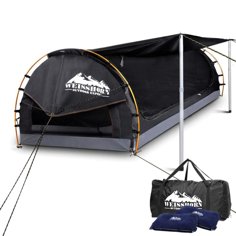 Double Camping Swag - Dark Grey - Factory To Home - Outdoor
