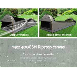 Double Camping Swag - Grey - Factory To Home - Outdoor