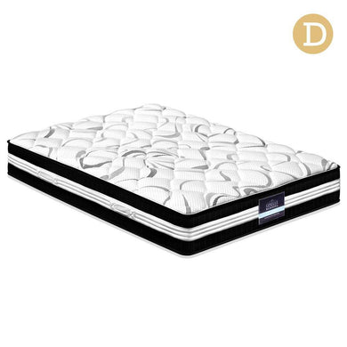 Double Size Euro Spring Foam Mattress - Factory To Home - Furniture