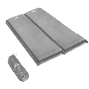 Double Size Self Inflating Mattress - Grey - Factory To Home - Outdoor