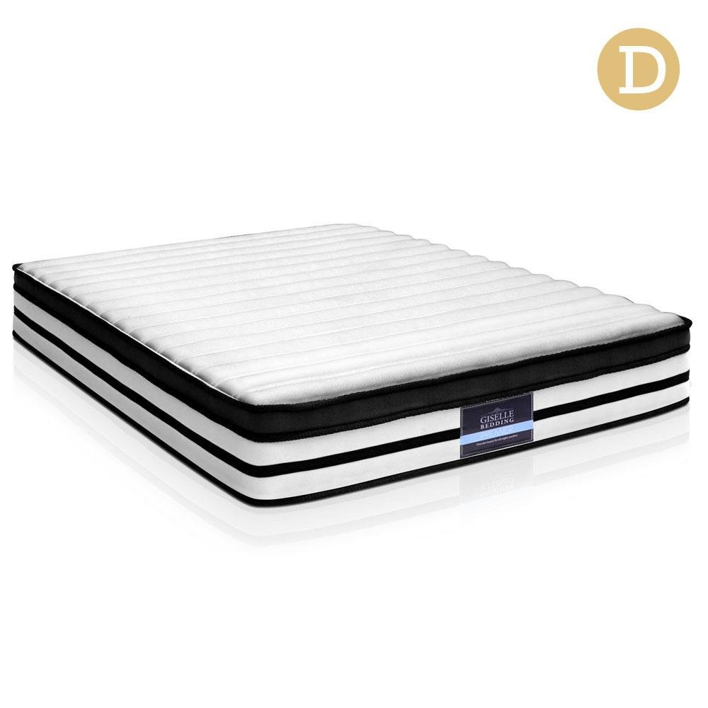 Double Size Thick Foam Spring Mattress - 27cm - Factory To Home - Furniture