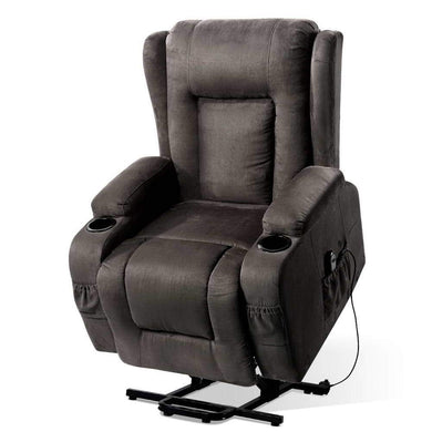 Electric Heated Massage Recliner Chair - Factory To Home - Health & Beauty