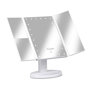 Embellir LED Tri-Fold Make Up Mirror - Factory To Home - Furniture