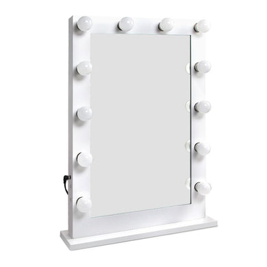 Embellir Make Up Mirror with LED Lights - White - Factory To Home - Furniture