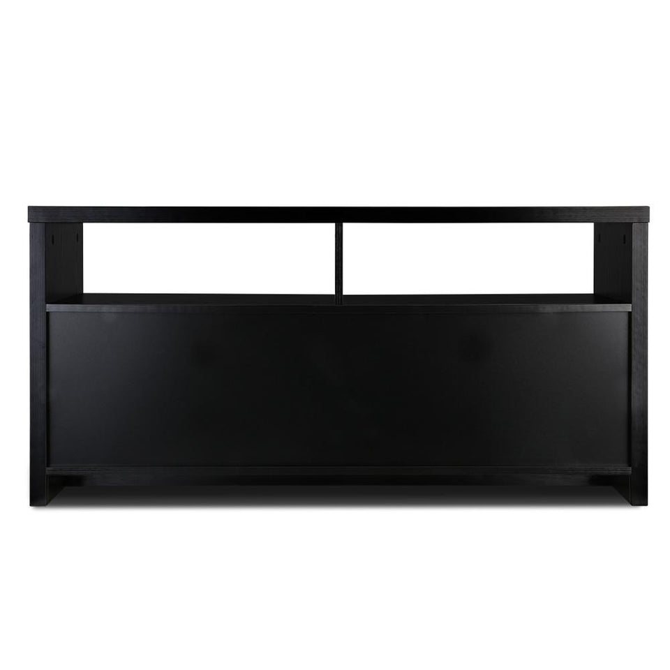 Entertainment Unit with Cabinets - Black - Factory To Home - Furniture