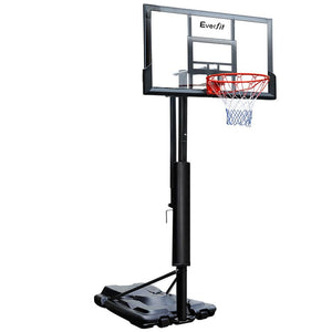 Everfit 3.05M Portable Basketball Stand System Height Adjustable Black - Factory To Home - Gift & Novelty