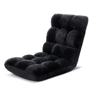 Futon Floor Recliner - Black - Factory To Home - Furniture