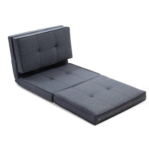 Futon Folding Sofa Bed - Grey - Factory To Home - Furniture
