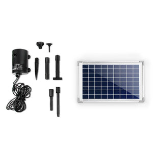 Gardeon 650L/H Submersible Fountain Pump with Solar Panel - Factory To Home - Home & Garden