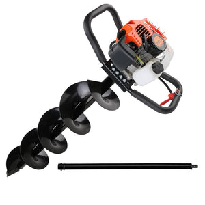 Giantz 62CC Petrol Post Hole Digger Drill - Factory To Home - Tools