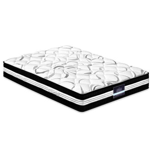 Giselle Bedding Queen Size Euro Spring Foam Mattress - Factory To Home - Furniture