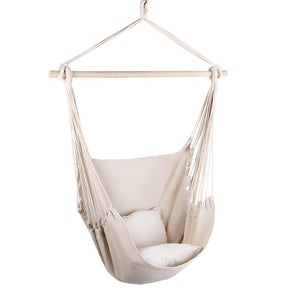 Hammock Swing Chair - Cream - Factory To Home - Home & Garden
