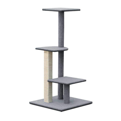 i.Pet 124cm Cat Scratching Post - Grey - Factory To Home - Pet Care