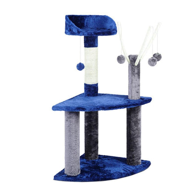 i.Pet 95cm Cat Scratching Post - Blue & Grey - Factory To Home - Pet Care